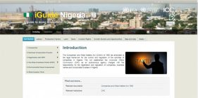 Nigerian Investment Promotion Commission (NIPC) launches an online portal (iGuide Nigeria)